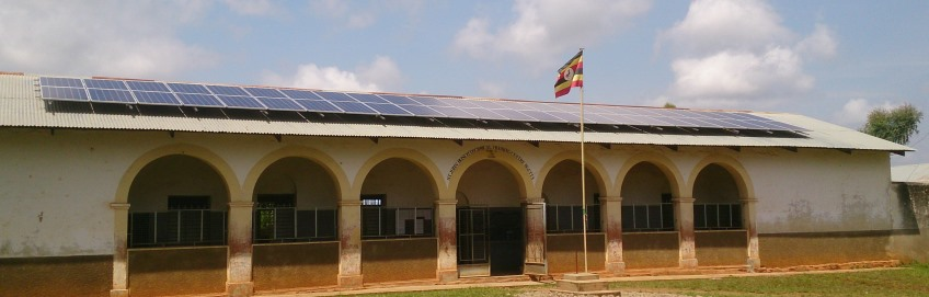 Solar Power for  Radio Wa, Uganda