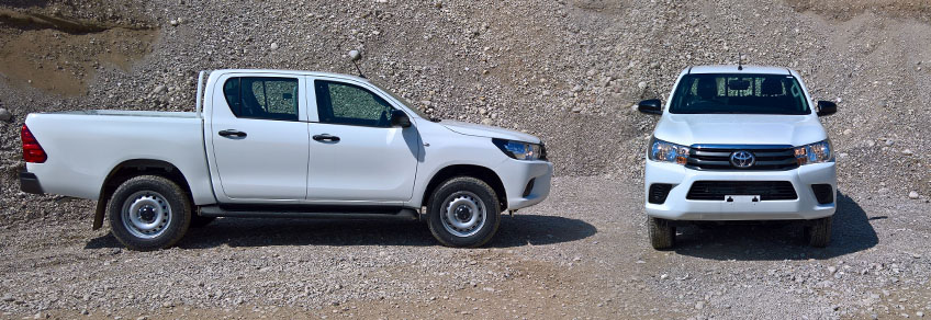 Toyota Hilux Double Cabin Right Hand Drive