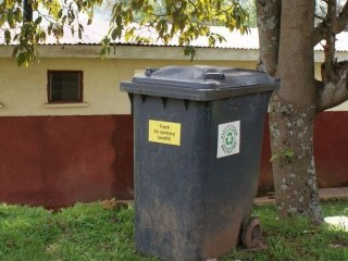 Moveable bin