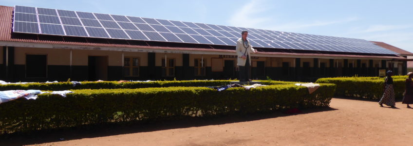 New photovoltaic system in St. Josephs Hospital