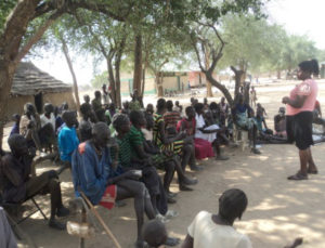Health Training in Marial Lou