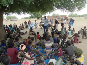 Health Training in the villages