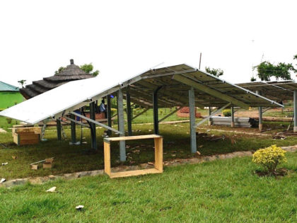 PV-Installation at DMI Sisters in Juba, South Sudan