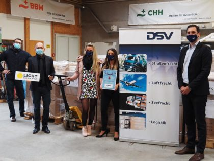 BBM mediates cooperation between DSV forwarding company and LftW relief organisation